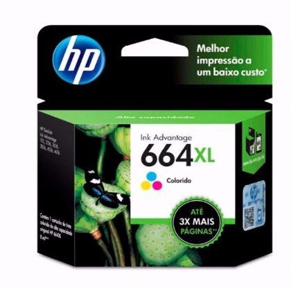 TINTA HP 664XL  BK